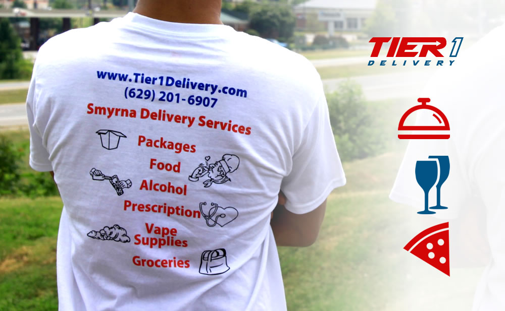 Tier 1 Delivery Food Delivery in Smyrna TN